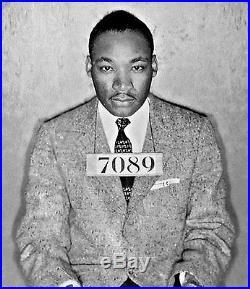 Martin Luther King Jr. Mug Shot 8x10 Photo