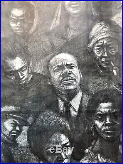 Martin Luther King SCLC Poor Peoples Campaign 1968 Civil Rights Historic Poster