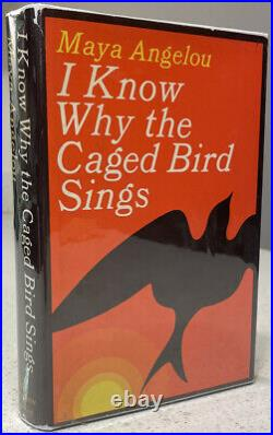 Maya Angelou I Know Why the Caged Bird Sings SIGNED First Edition 1st Print