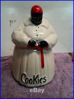 %% Mccoy Cookie Jar- Black Americana- Aunt Jemima- Mammy- Vintage Original (#4)
