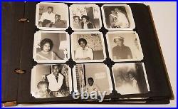 Mid-Century African American Michigan Family Photo Album 141+ Photos Cars, Kids