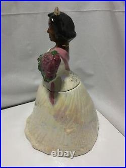 Miss America Cookie Jar Wihoas Cookie Classic by Rick Wisecarver Black Americana