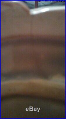 Mosaic Tile Black Americana Mammy Cookie Jar RARE Blue Dress