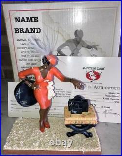 NAME BRAND #8024 by Annie Lee Black Americana Figurine MIB