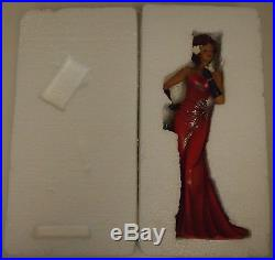 NIB Billie Holiday look African American Woman Gardenia Figure Figurine jazz