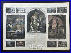 Nast Southern Justice 1867 Reconstruction Jim Crow Harpers Weekly Print