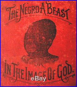 Negro Beast Afro American History Black South Slavery Racism Culture Religion X