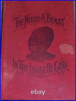 Negro History Afro American Religion Social Anthropology Race Culture Slavery US