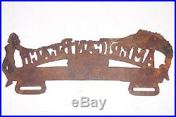 Negro Ocean Playground American Beach Florida Car Auto License Plate Topper Old