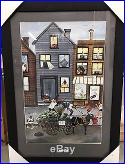 New Framed Annie Lee Sweet And Juicy African American Art Poster Print