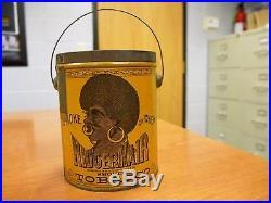 Nigger Hair Tobacco Tin Tobacciana Black Americana Great Condition