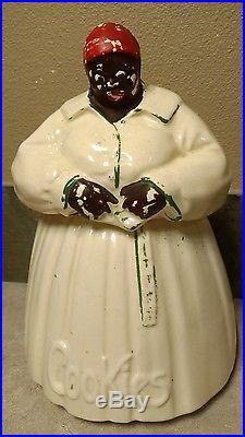 ORIGINAL! McCoy Mammy Aunt Jemima Cookie Jar Black Americana COLLECTIBLE