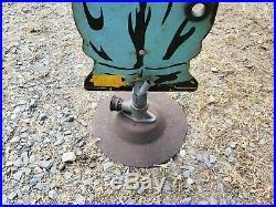 ORIGINAL Sprinklin Sambo Black Americana Metal Die Cut Water Lawn Sprinkler Vtg