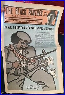 October 19, 1968 THE BLACK PANTHER PARTY Publication Vol. II, No. 9 Black Paper