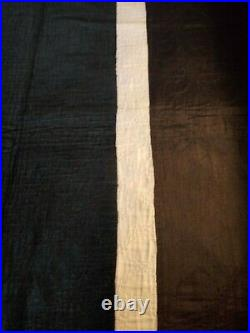 Old Order Amish INNER FRAME, Ohio, Nineteenth Century, Black, White, Brown