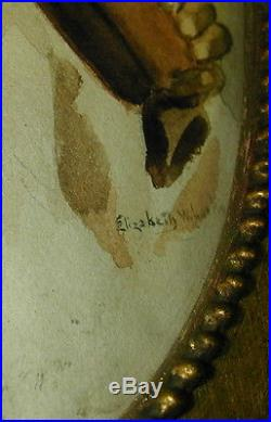 Old Original Painting Black Americana Signed Original Frame 1920's Very Rare