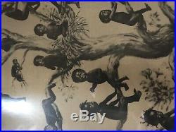 Original Black Americana 1909 Menoravilia Blackbirds Print Original