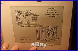 Original Black Americana Cast Iron Cabin Mechanical Bank J & E Stevens c 1885