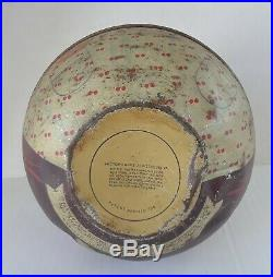 Original C1912 Mayo's Cut Plug Mammy Roly Poly Tobacco Tin Black Americana