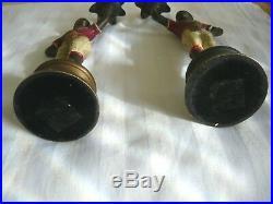 Pair Vintage Blackamoor, Nubian Candleholders