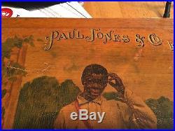 Paul Jones Distillary advertisement-Black Americana-Temptation of Saint Anthony