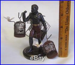 Petite Choses Blackamoor Nubian Bird Cage Man 5