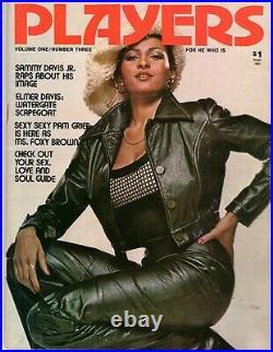 Players Magazine Pam Grier / Vol. 1 No. 3