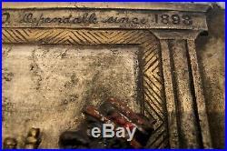 Pre-prohibitionwhiskey / Distilleryadvertising Signblack Americana1898-1918