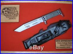 Presentation Johanning's Knife To LT. COL. Hiram Mann Tuskegee Airman