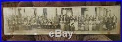 Prince Hall Grand Lodge Masons Alabama, Tennessee Meeting Vintage Print 40 x 9