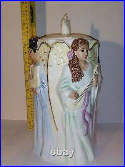 RARE African American Angels Cookie Jar/ J. C. Penny Home Collection