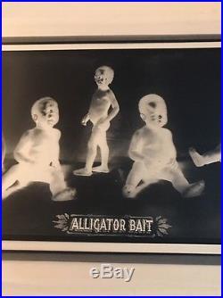 RARE Alligator Bait Negative 9-1/2 X 24 For The Alligator Bait Prints