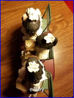 (RARE) FIRST SUNDAY By GILBERT YOUNG Sculpture Figurine African American Girls