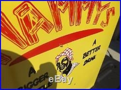 RARE MAMM Soda Cola Drink Vintage Metal Cooler Black Americana Aunt Jemima
