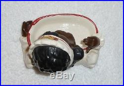 RARE Vintage 1950s Black Americana Mammy Maid Soap Dish Coin Tray Souvenir