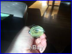 RARE Vintage Antique 1922 Whimsical Full Sealed French Perfume Bottle by Vigny