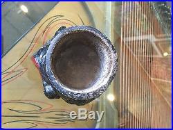 RARE Vintage COON CHICKEN INN Cigarette Holder BLACK AMERICANA
