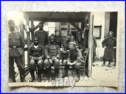 RARE WW2 KGB PHOTO BLACK NAZI / African Soldiers FREE ARABIAN LEGION soldier lot