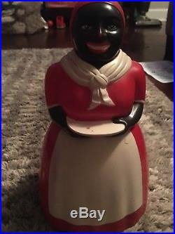 Rare 11.5 Aunt Jemima Plastic Cookie Jar