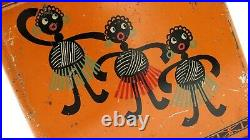 Rare 1920's Black Americana Finnish Advertising Biscuits Tin Hangon Licorice