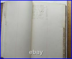 Rare Attorney Ledger Brooklyn Handwritten 1800s Prisoner Hanged Black American