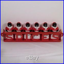 Rare Aunt Jemima Spice Set by F & F Mold & Die Works withLustro-Ware Rack No Rsrv