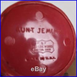 Rare Aunt Jemima Spice Set by F&F Mold & Die Works withOriginal Steamboat Rack BIN