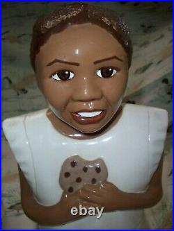 Rare Black Americana Porsha Cookie Jar J. C. Miller Only One On Ebay