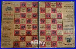 Rare Blackwell's Durham Smoking Tobacco Checker Board The Honey Seekers