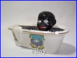 Rare Boy in Bathtub How Ink Is Made Vintage Black Americana England Crest SALE