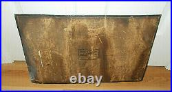 Rare Cook's Pre-prohibition Beer Advertising Toc Sign F. W. Cook Co. Evansville
