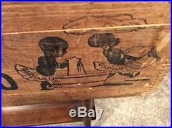 Rare Gold Dust Twins Vintage Black Americana 1880s Soap Wood Box Crate RARE