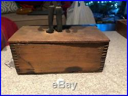 Rare Hand Made Wind Up Clockwork Black Americana Dancer Dancing Toy Ives OOAK