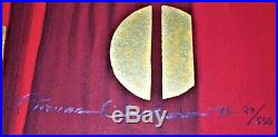 Rare Intimacy Serigraph Thomas Blackshear II Pencil Signed & Numbered